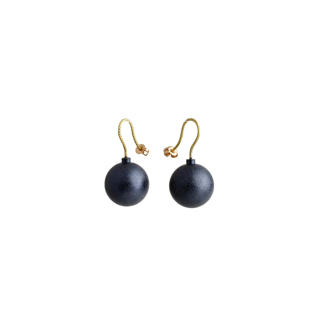 AK 'Bomb' earrings