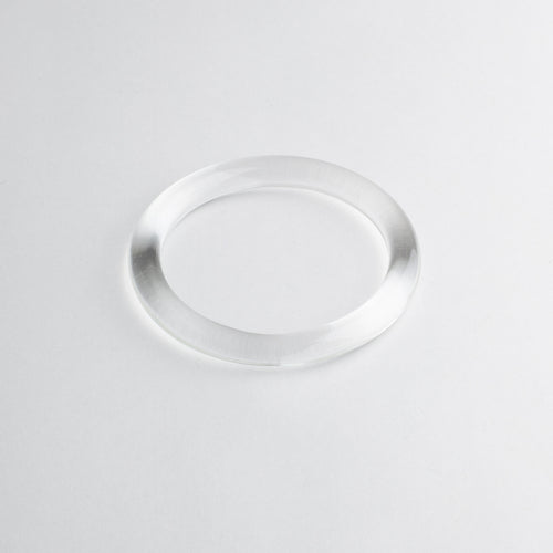 'Riesling' bangle - transparent