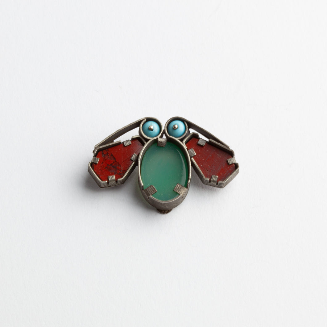 'Old insect' brooch