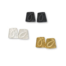 'Fragment' stud earrings