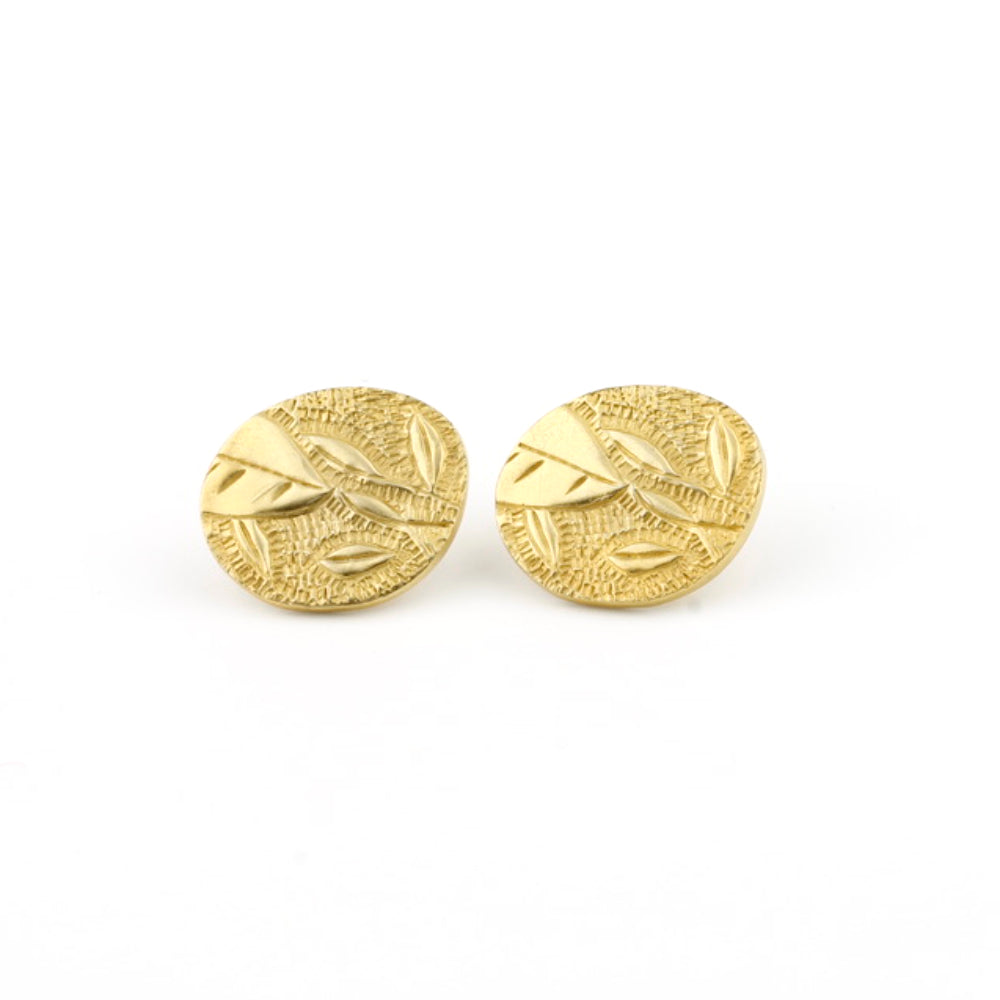 JB 'Botanical' stud earrings