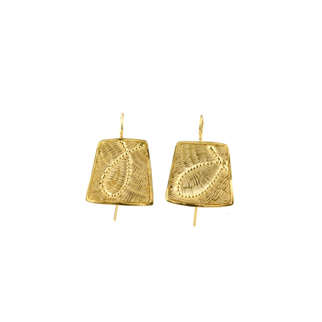 'Fragment' hook earrings