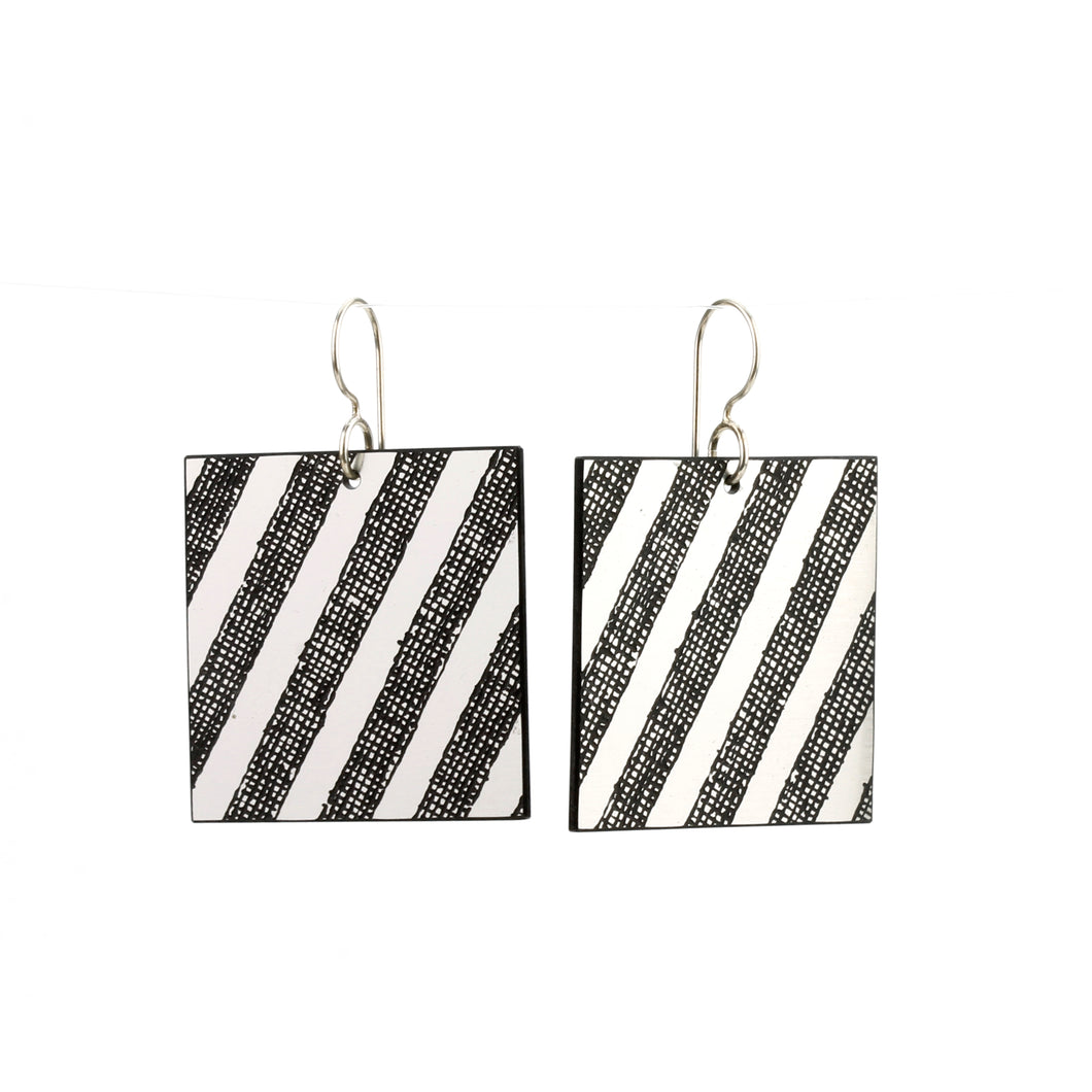 'Brilliant Grey' earrings