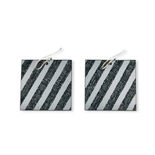 MG 'Brilliant Grey' earrings