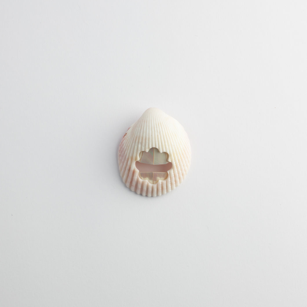 'Pearly Whites' brooch