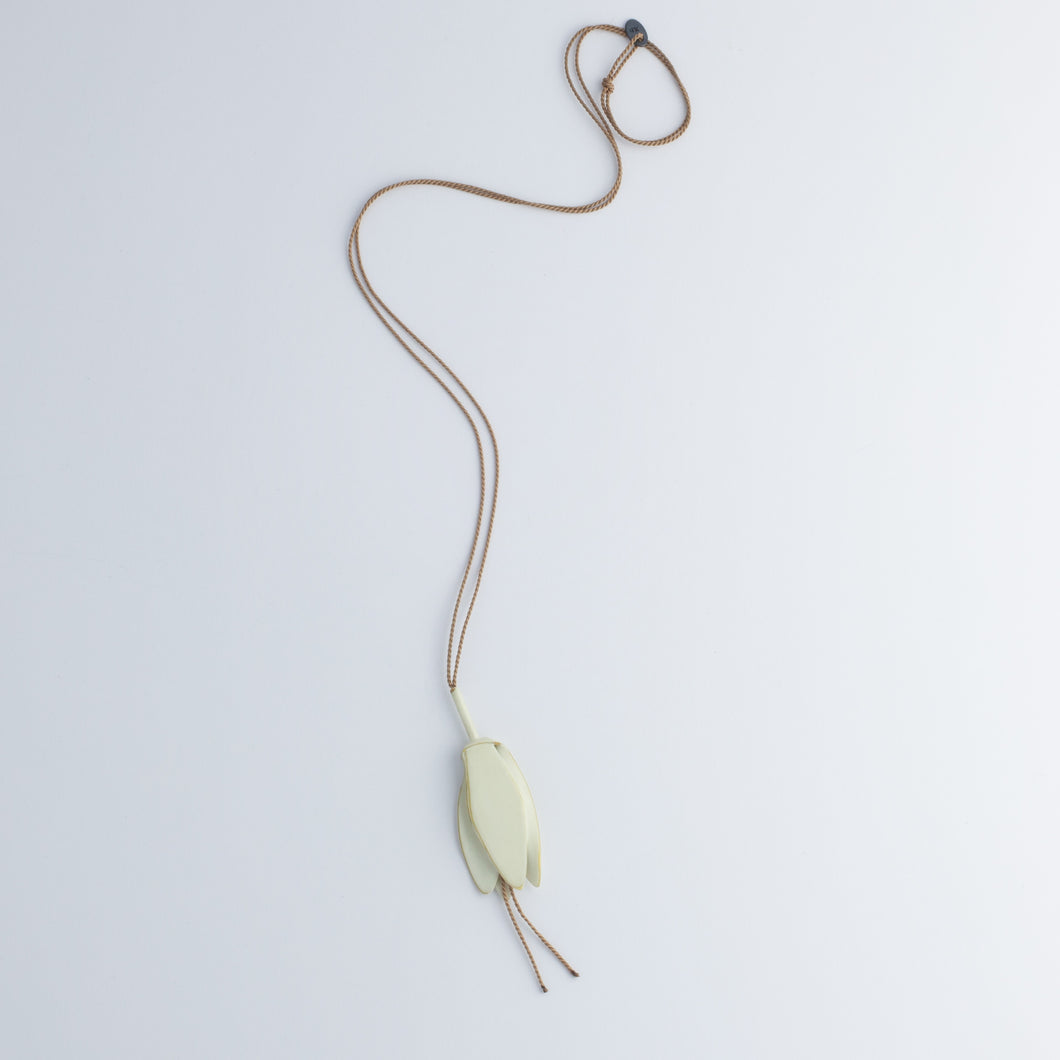 JD 'Offerings: Wilted Champee' pendants - ivory