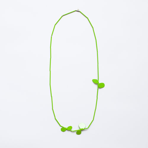 'Leaf' necklace - green