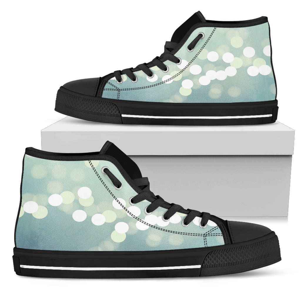 Broken Light - Canva High-top Women Shoes
