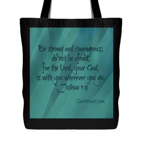 Strong and Courageous Tote