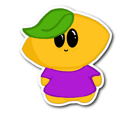 Lemon Boy 2.0 Sticker