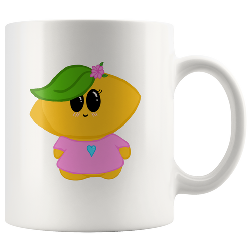 Lemon Girl Mug, 11oz