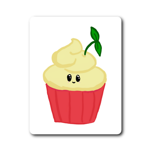 Lemon Boy Cupcake Sticker