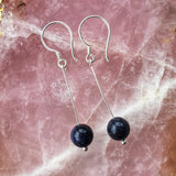 Stirling Silver and Crystal Earrings