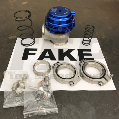 How to Spot a fake TiAL MVR wastegate