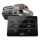 SCT 40460S GTX 2008-2010 Ford 6.4L Powerstroke Performance Tuner and Monitor