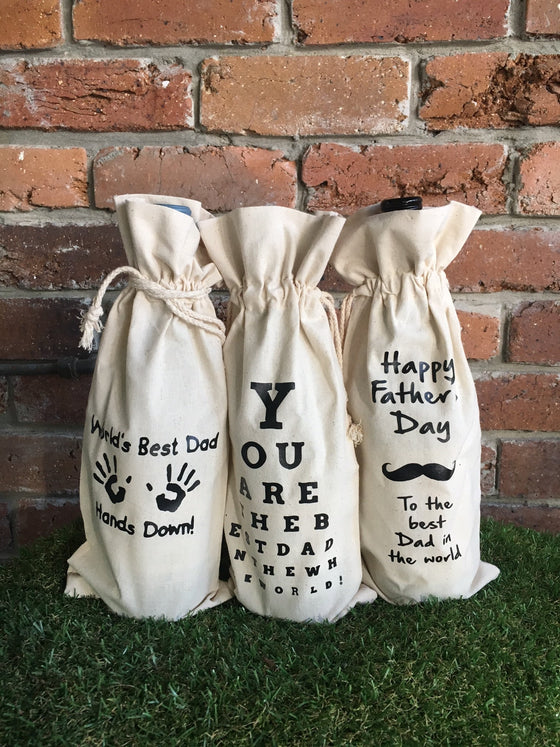Wine Bags - Father's Day