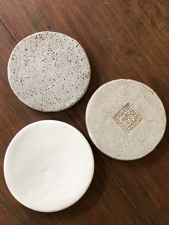 Handmade Ceramic Coasters