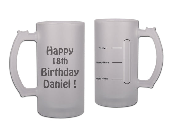 Birthday Beer Stein