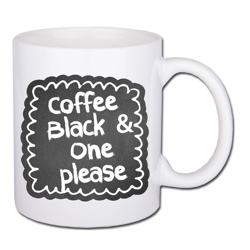 Chalkboard Coffee Order Mug - Father's day