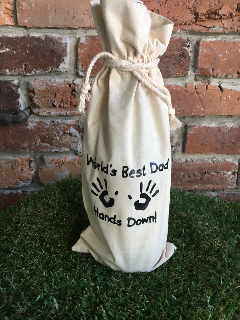 Personalised Wine Bags - Father's Day