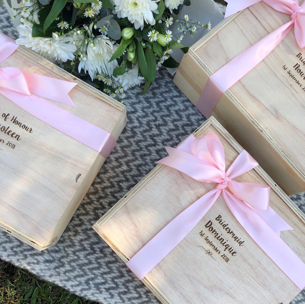 Custom Bridal Boxes