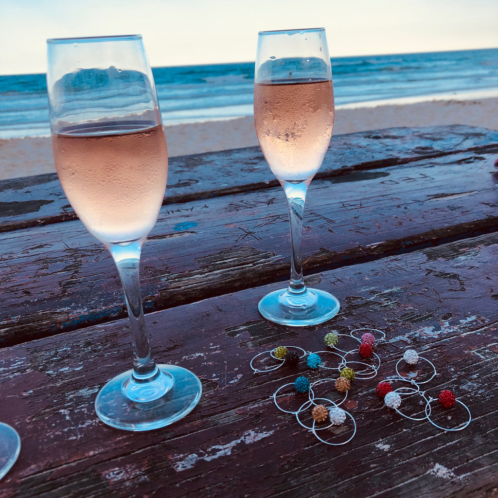 Sparkling Wine Charms