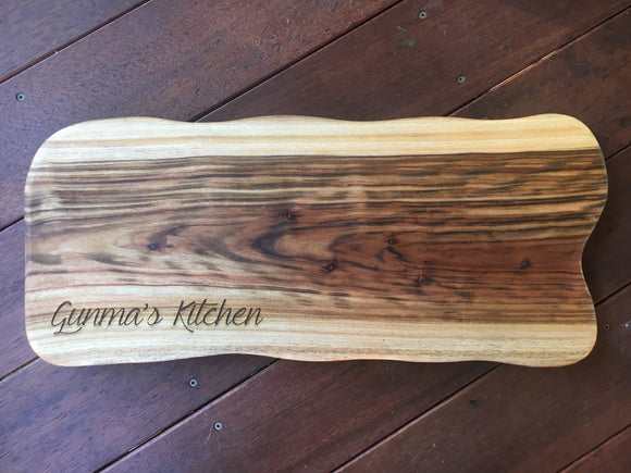 Custom Camphor Laurel Board - Large