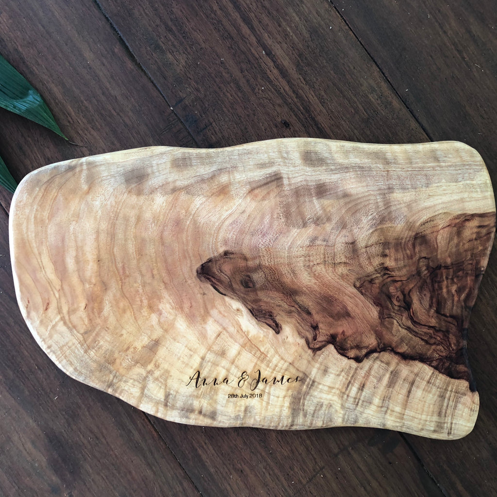 Custom Camphor Laurel Board - Medium