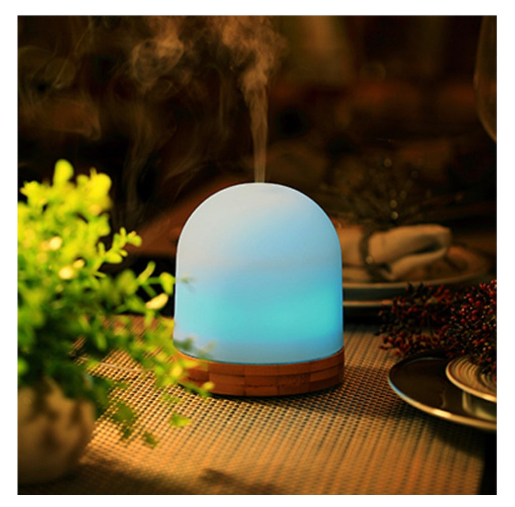 Sol Ultrasonic Aromatherapy Diffuser, Board and Essential Oil