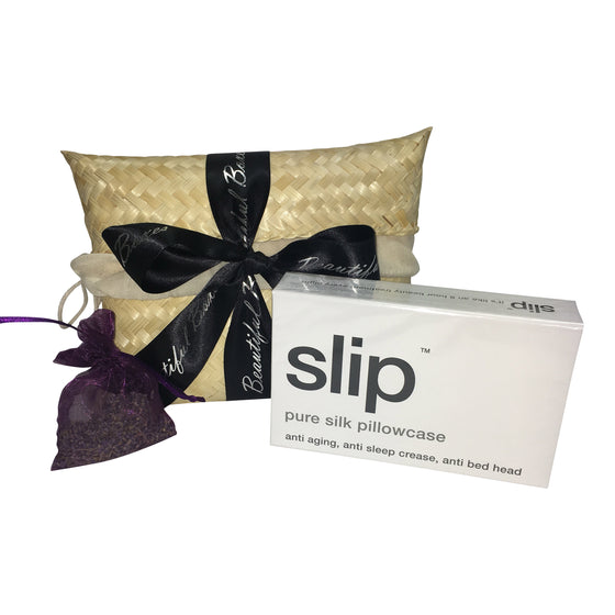 Slip Pillowcase & Lavender Bag