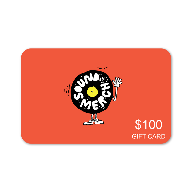 $100 Sound Merch Gift Card