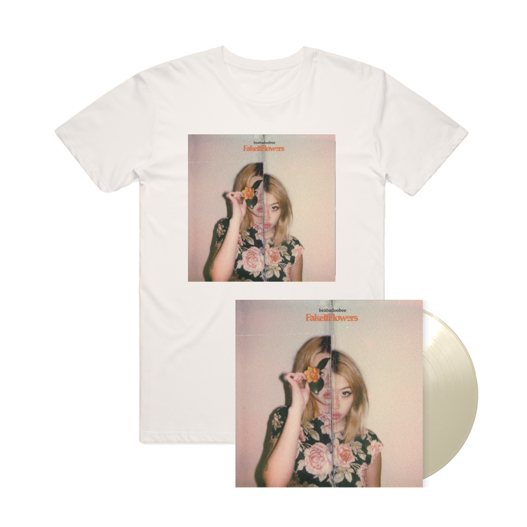 Beabadoobee / Fake It Flowers T-Shirt + Vinyl Bundle