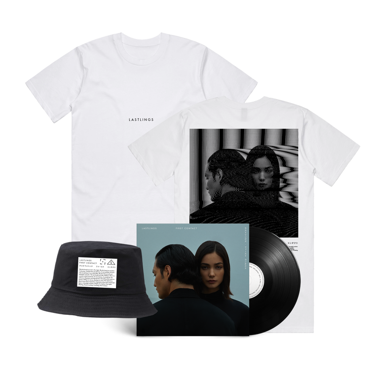 Lastlings / First Contact Tee & Vinyl & Hat Bundle