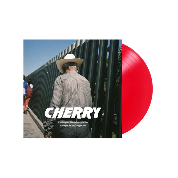 Cherry Limited Edition 12' Vinyl (Transparent Red) ***PRE-ORDER***