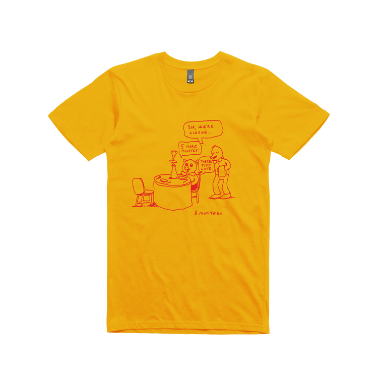 5 More Minutes / Gold T-shirt
