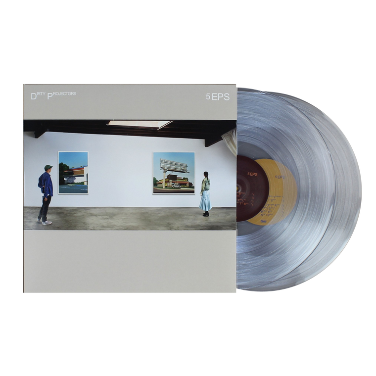 Dirty Projectors / 5EPs 2xLP vinyl
