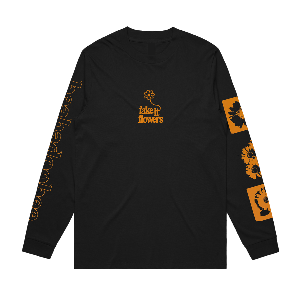 Beabadoobee / Fake It Flowers Black Long Sleeve + Digital Album