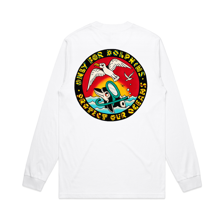Action Bronson / 'Only For Dolphins' Long Sleeve ***PRE-ORDER***