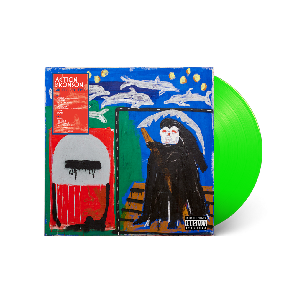 Action Bronson / 'Only For Dolphins' Limited Edition Deluxe Lenticular ***PRE-ORDER***