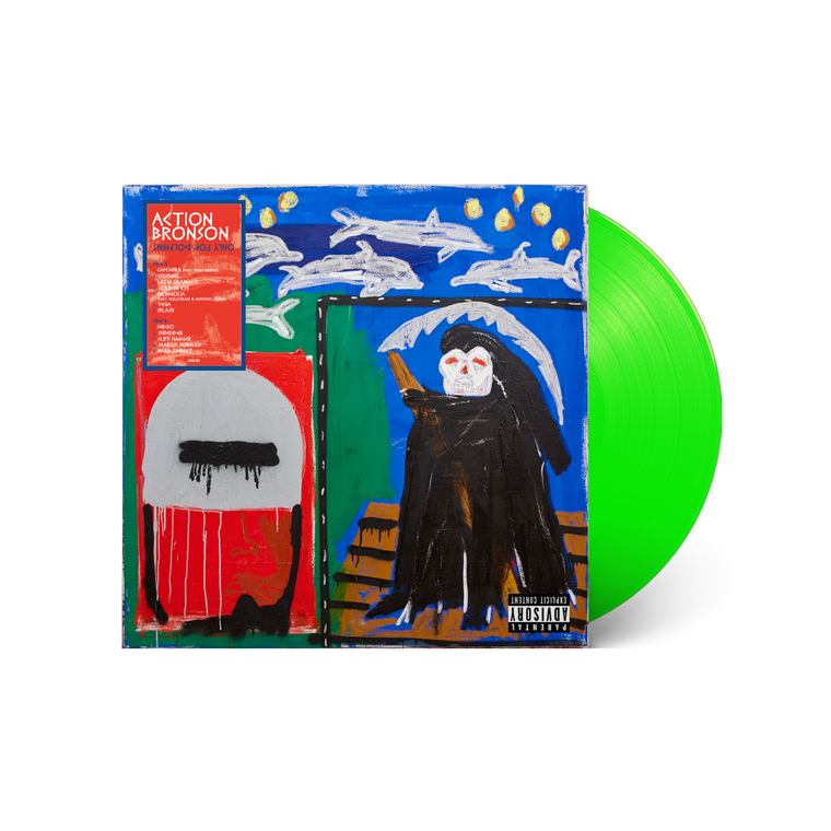 Action Bronson / 'Only For Dolphins' Limited Edition Deluxe Lenticular