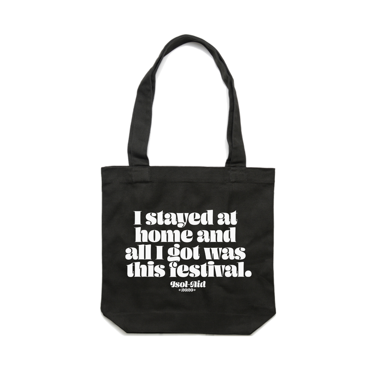 I Stayed at Home / Black Tote