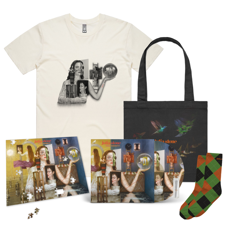 Julia Stone / Sixty Summers Premium Vinyl LP Bundle