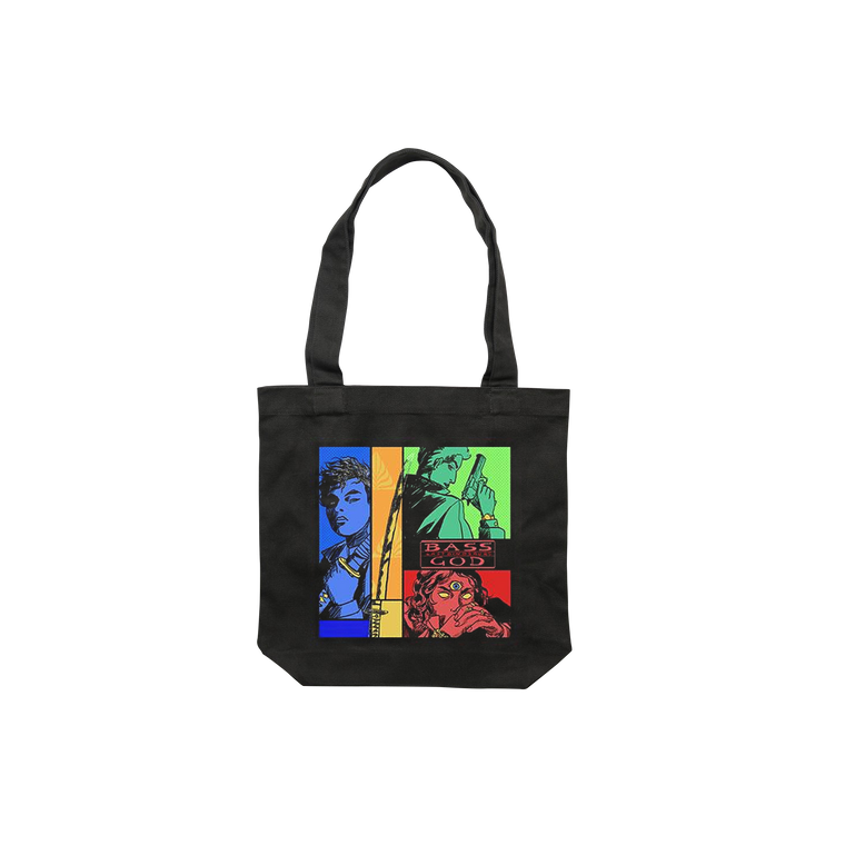Bass God Tote Bag