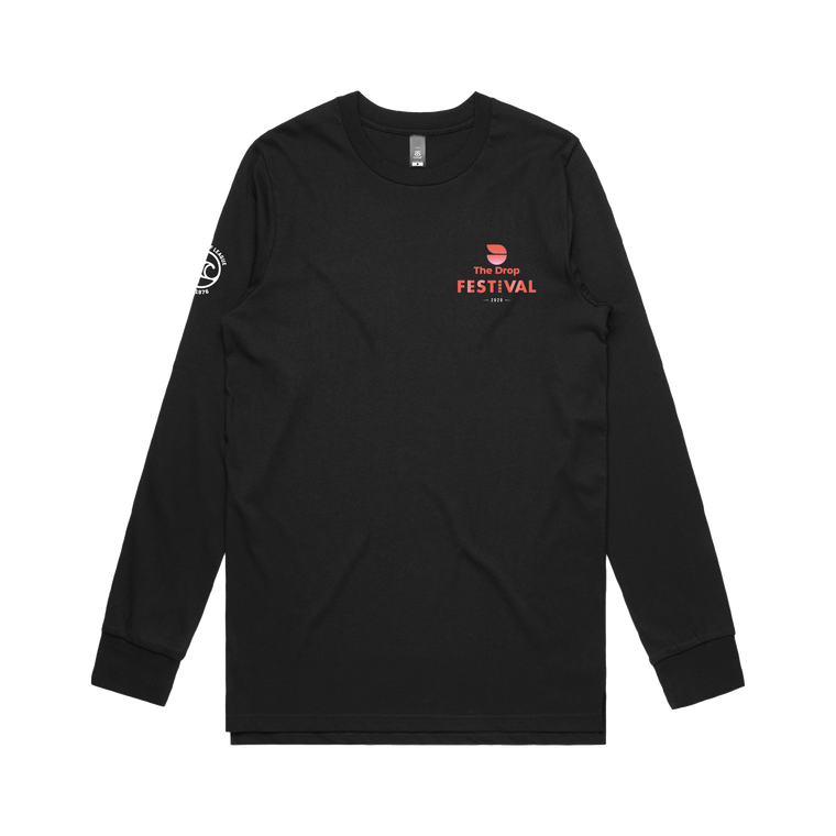 Mens Black Longsleeve