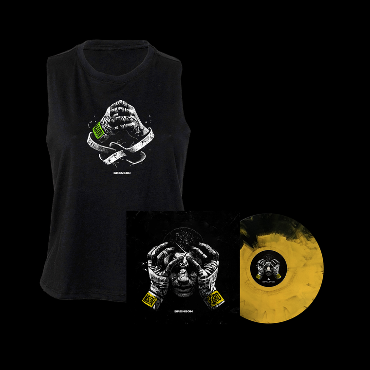 Bundle: Women's Racerback Croptop + Limited Edition LP