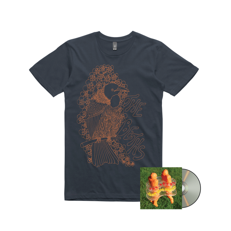 The Beths / Jump Rope Gazers CD + T-shirt bundle