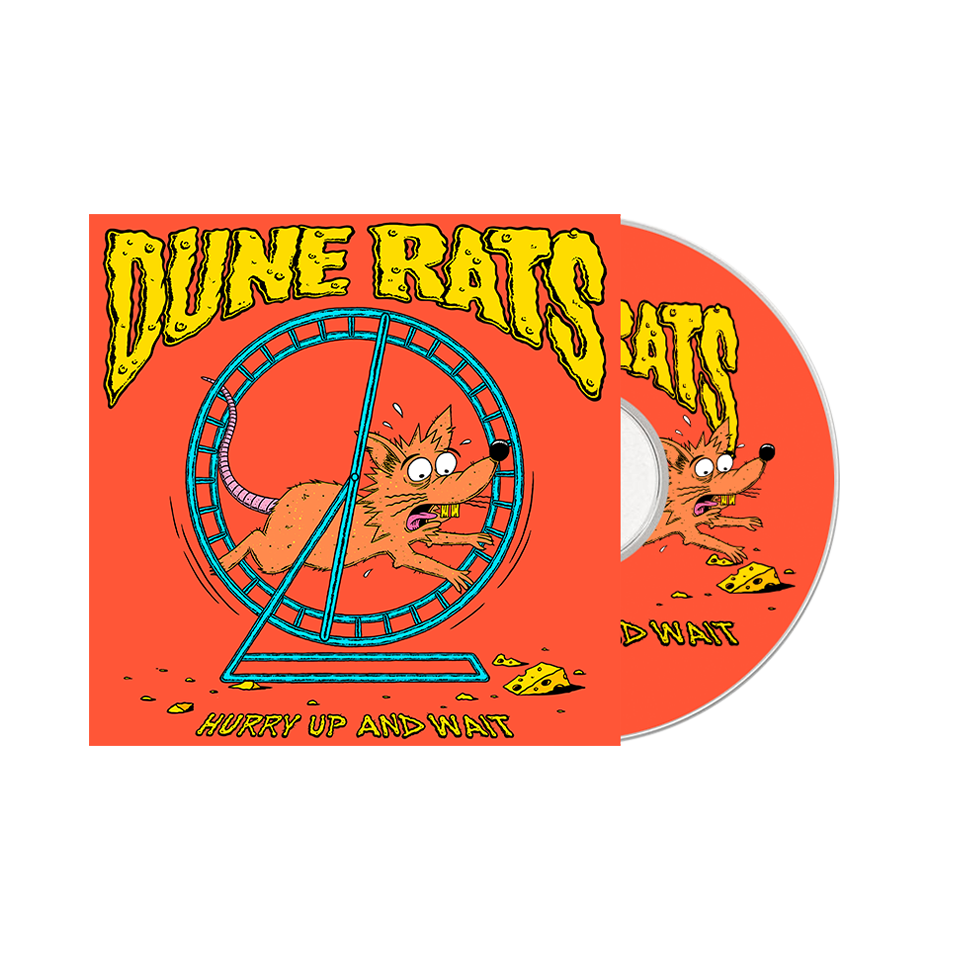 'Hurry Up And Wait' / Bong and CD Bundle