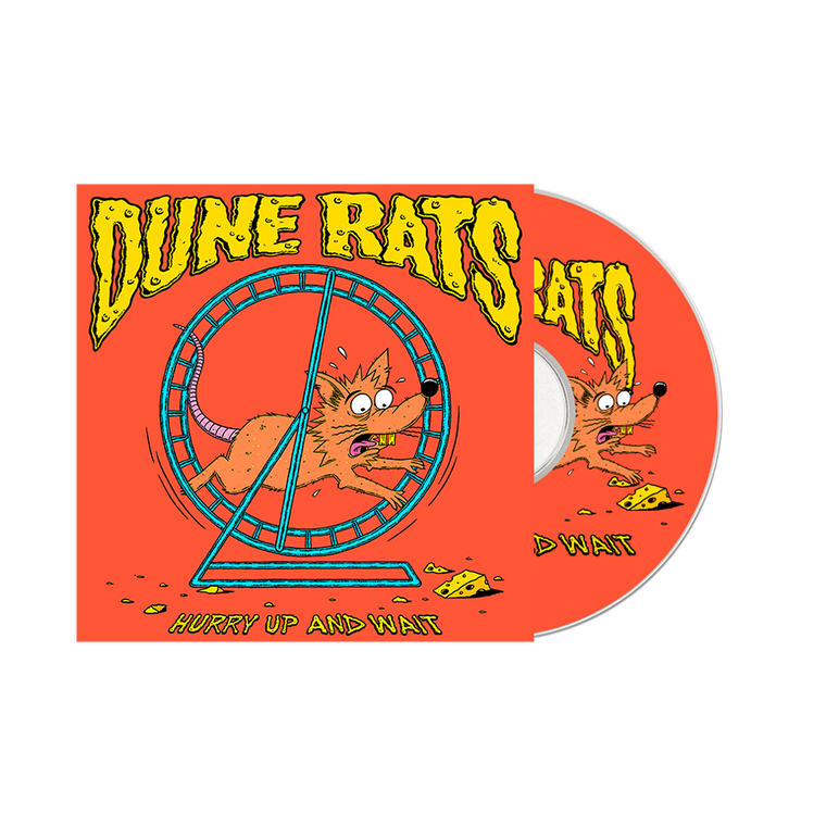 'Hurry Up And Wait' / Bong and CD Bundle  ***Pre-order***