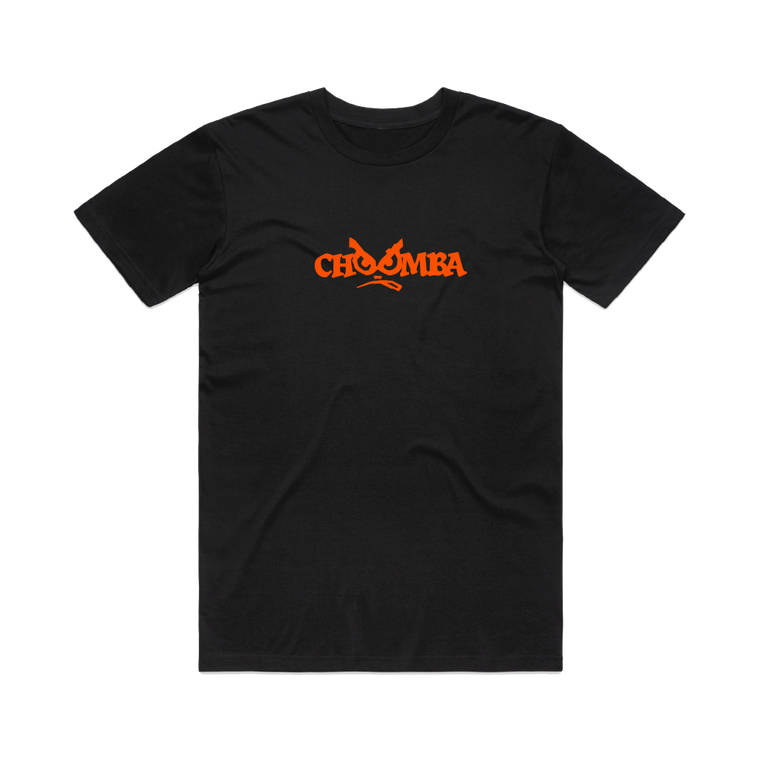 Choomba logo / Black T-shirt