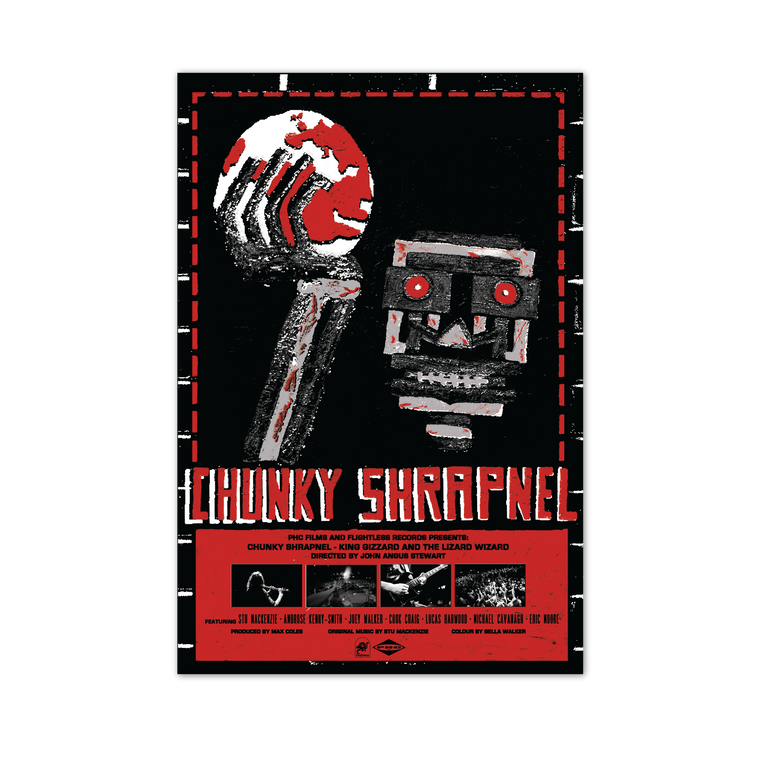 ***PRE ORDER*** Chunky Shrapnel by Ben Jones / Limited Edition Poster